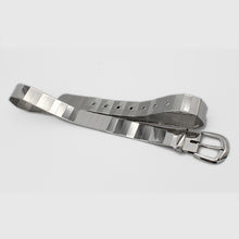 Load image into Gallery viewer, Silver Pin Hole Buckle Belt
