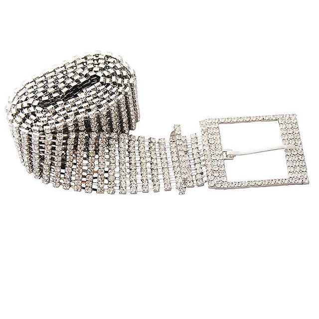 Diamond Embellished Waist Belts
