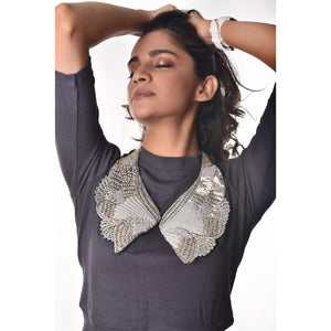 Detachable Saree Collars
