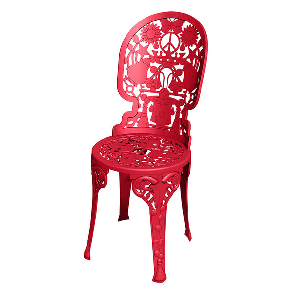 Industry Garden Seletti Chair, Red