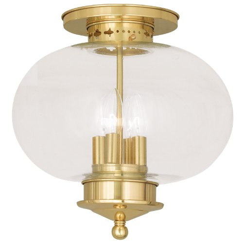 Livex Lighting Harbor Ceiling Mount, 4 Light