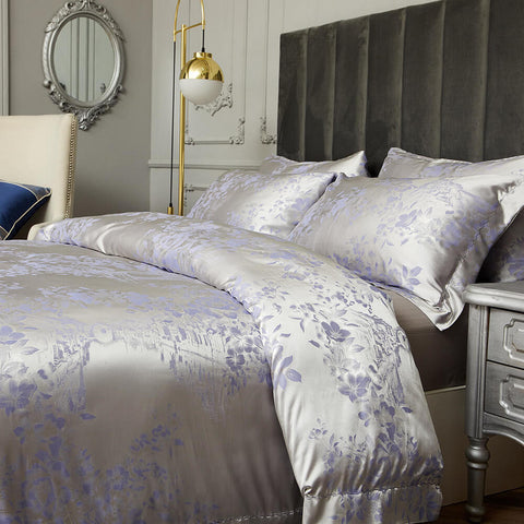 Munich Jacquard Luxury Duvet Cover Bedding Set