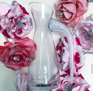 Crystal Filled Pitcher