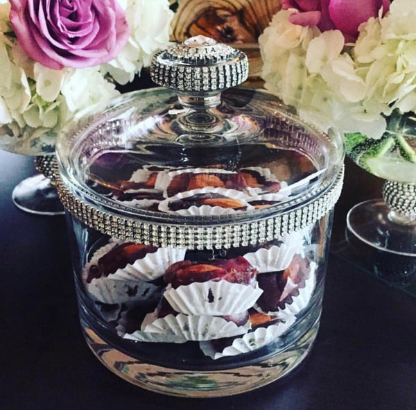 Aalan Lee Collection Cookie Jar with Crystals
