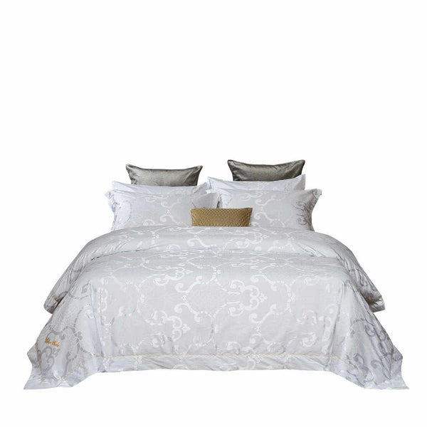 La Rochelle Jacquard Luxury Duvet Cover Bedding Set
