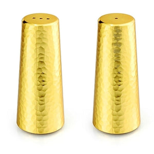 Salt and Pepper Shakers, Gold