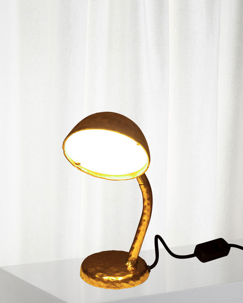 Fingers Gold Table Lamp, Seletti