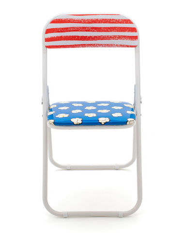 Metal Folding Chair Seletti, Popcorn