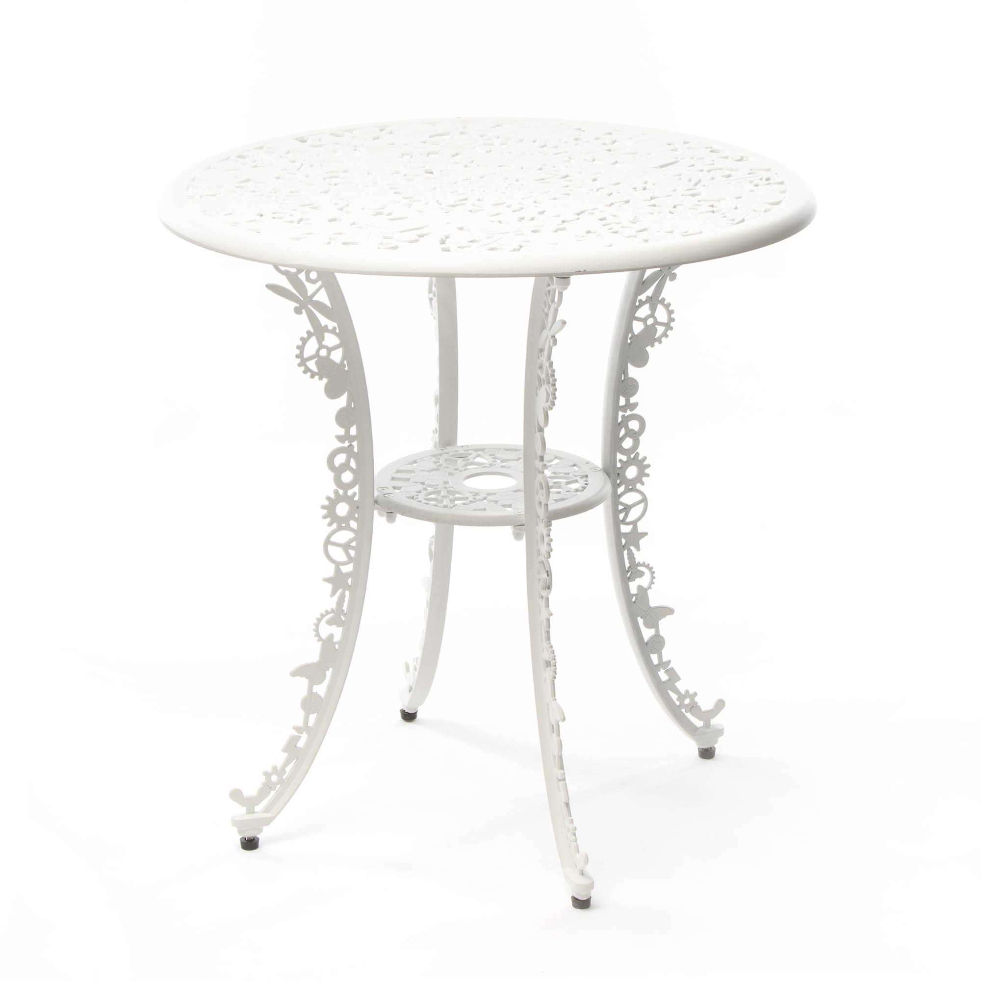 Industry Garden Seletti Round Table, White