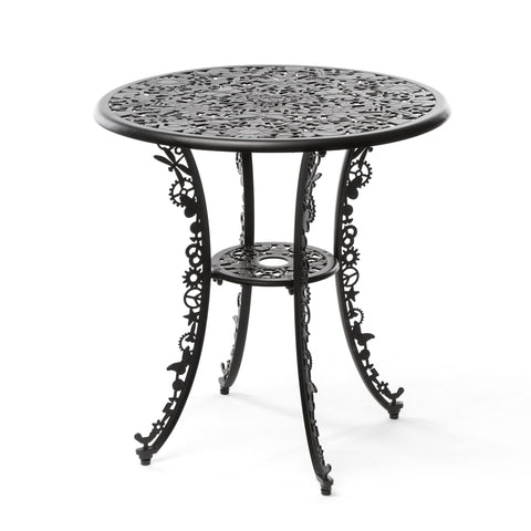 Industry Garden Seletti Round Table, Black