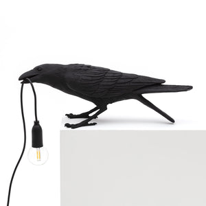 Bird Lamp Playing Seletti, Black
