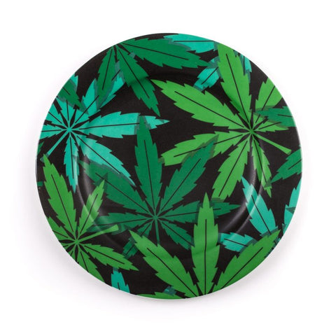 Porcelain Plate, Weed