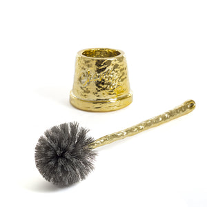 Toilet Brush Charley Seletti Studio Job, Gold
