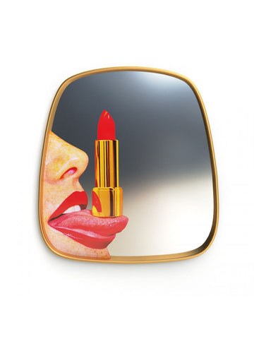 Mirror Gold Frame, Tongue