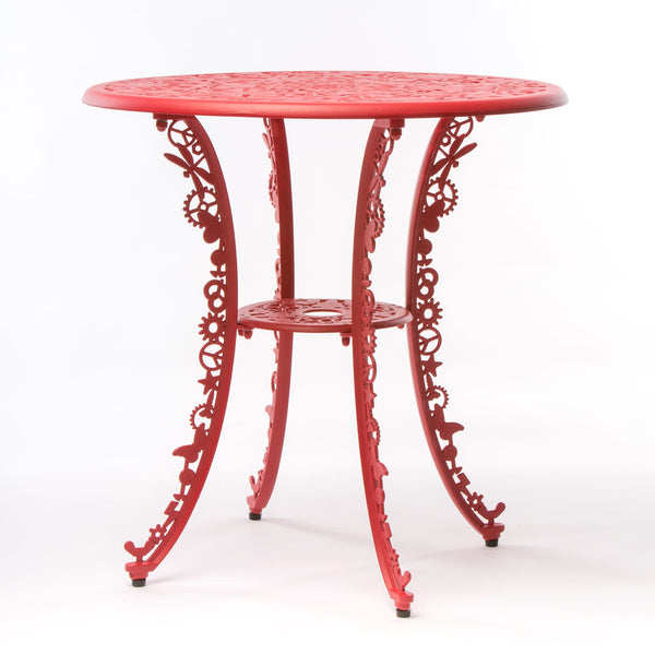 Industry Garden Seletti Round Table, Red