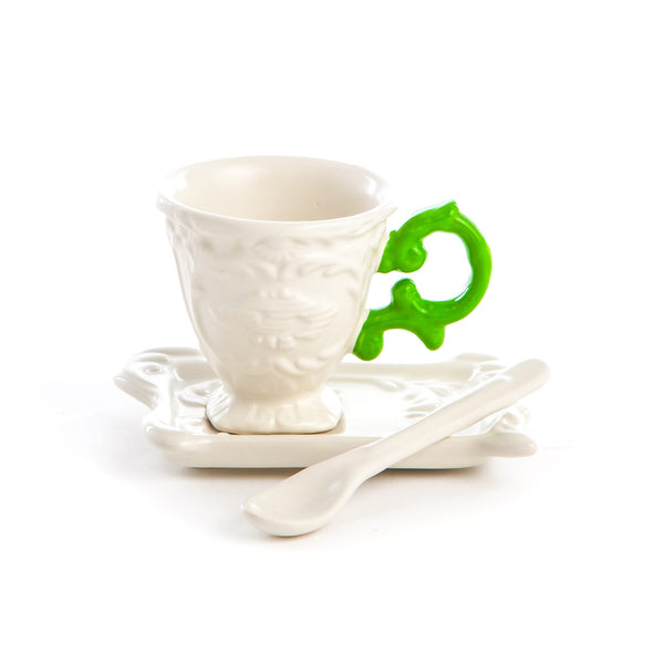 IWares Seletti Espresso Coffee Set, Colored