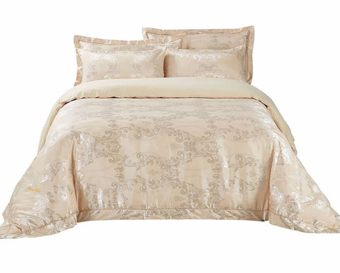 Rimini Jacquard Luxury Duvet Cover Bedding Set