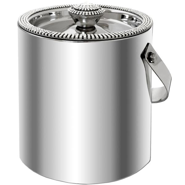 Alan Lee Collection Ice Bucket with Crystal Lid