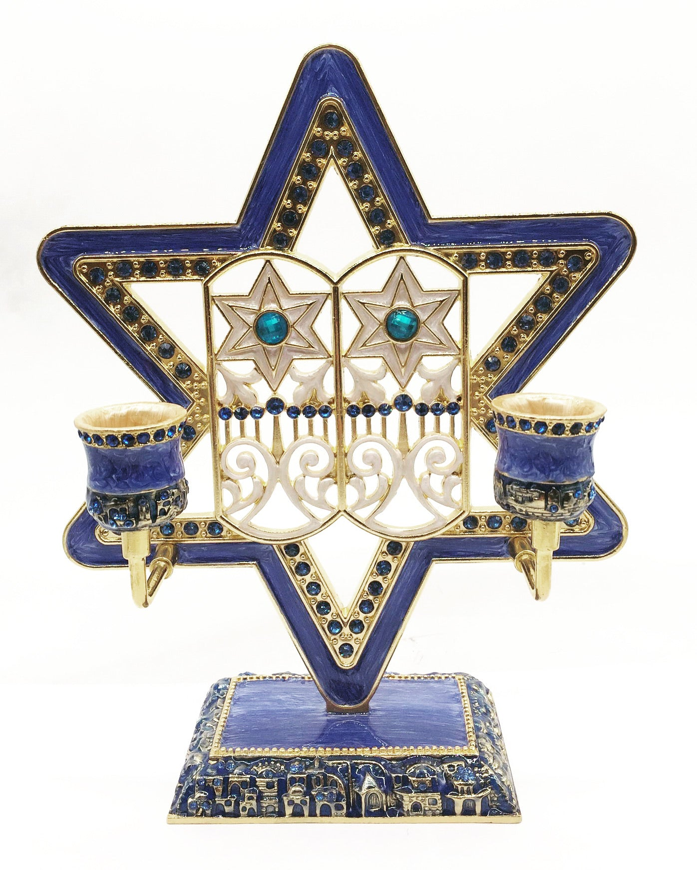 Candle Holder Judaica, Star of David