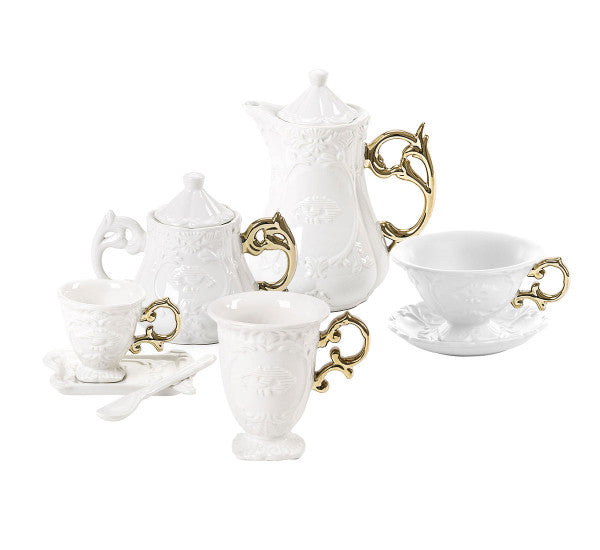 IWares Seletti Sugar Bowl, Gold