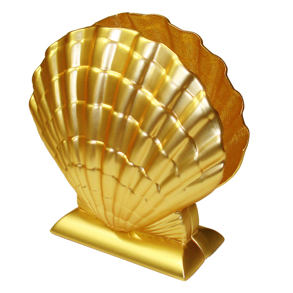 Napkin Holder, Gold Tone