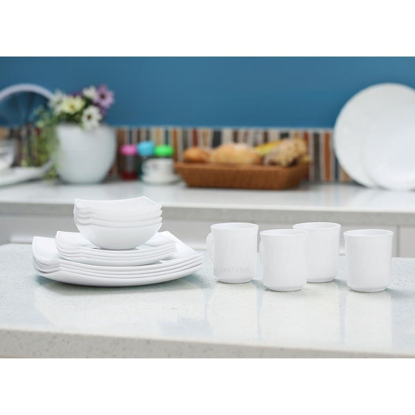 Platinum Collection Dinnerware Set, 16 Piece