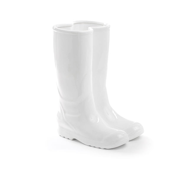 Rainboots Umbrella Stand Seletti, White