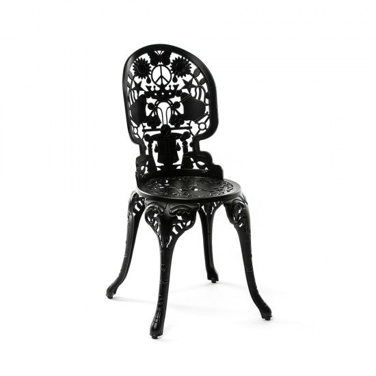 Industry Garden Seletti Chair, Black