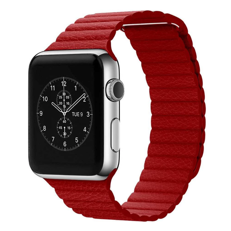 Leather Loop Apple Watch Band Compatible With Series 5/4/3/2/1