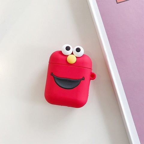 Cartoon Wireless Bluetooth Earphone Case For AirPods Silicone
