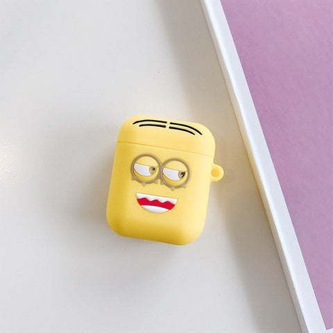 Image of Cartoon Wireless Bluetooth Earphone Case For AirPods Silicone