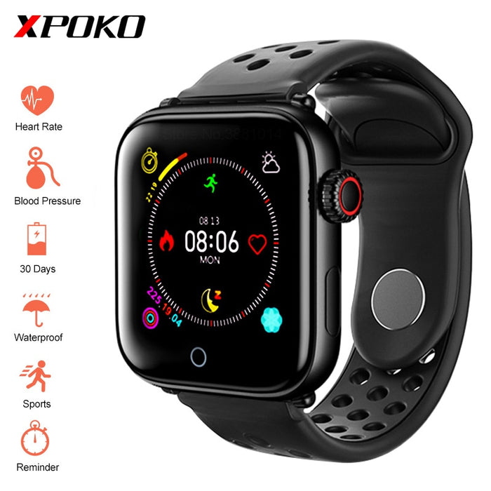Heart Rate Blood Pressure Monitor Multi-Sport IP67 Waterproof Smart Watch For Android IOS