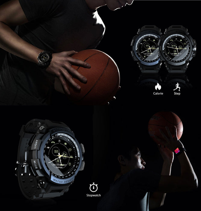 Digital Waterproof 5ATM Bluetooth Fitness Smart watch