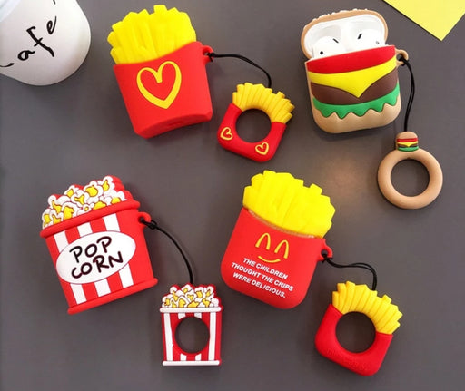 Airpod Case Cover - Mcdonalds Airpod Case - Fries And Burger