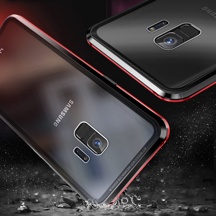 Samsung Galaxy Magnetic Double Sided Glass Case Cover S10 S10e S9 S8 Plus Note 9 8 A2