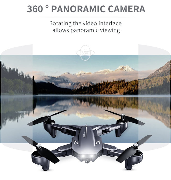 Ultra-Clear 4K Dual Camera Selfie Drone With Gesture Shooting