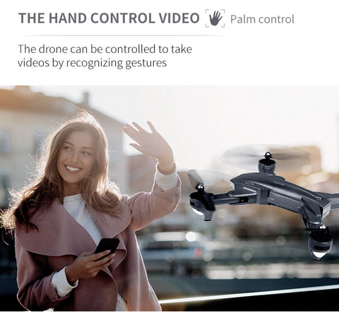 Image of Ultra-Clear 4K Dual Camera Selfie Drone With Gesture Shooting