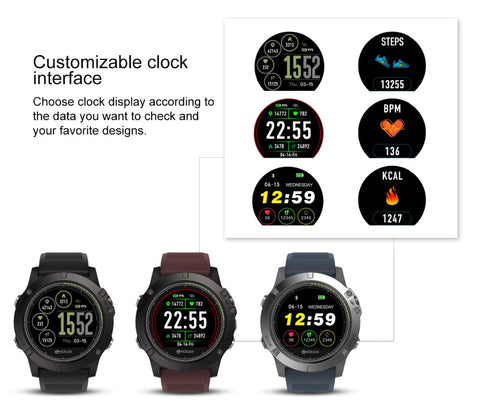 Image of NEW IP67 Waterproof Activity Fitness Tracker Smartwatch