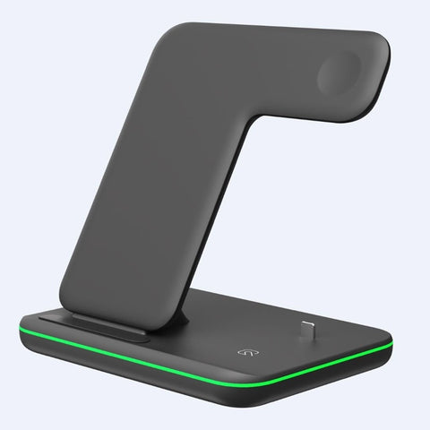 Image of Universal 15W Qi Wireless Quick Charge 3.0 Fast Charger Dock Stand For Apple iPhones Airpods iWatch