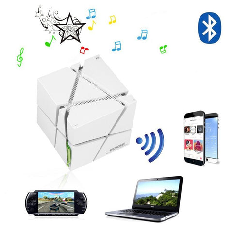 Image of Wireless Bluetooth Speaker With Microphone LED Flashing Light Subwoofer Hifi Surround Sound For Android iPhone