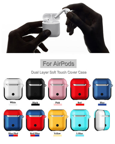 Image of Airpods 2st Generation Glossy Case For Bluetooth Wireless Earphones