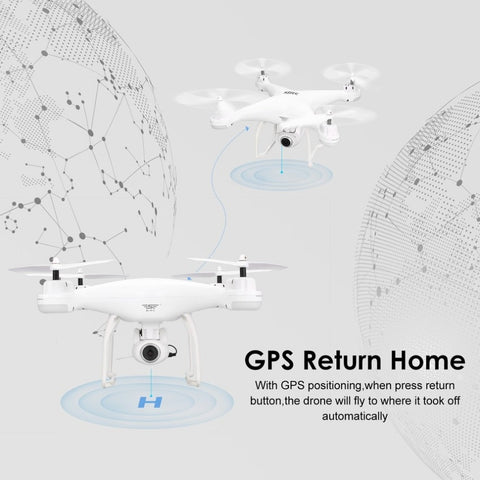 Image of SJ R/C S20W 9 Axis Quadcopter Drone With 1080P Camera and GPS