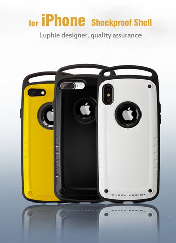 Image of Hybrid Protective Hard Silicone Heavy Duty Armor Sport Case For iPhone 7 8 Plus X XS Max XR