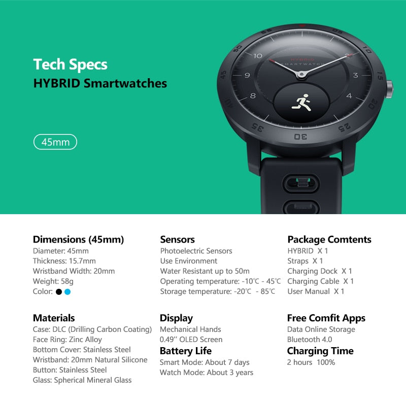 Heart Rate Monitor Real-Time Weather Temperature Sport Fitness Tracker 50M Waterproof Smartwatch For iPhone Android