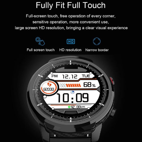 Image of IP67 Waterproof Heart Rate Monitor Blood Pressure Fitness Tracker Smartwatch For Android iPhone