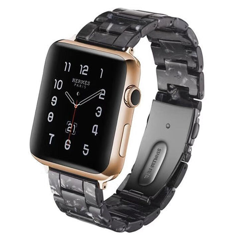 Fashion Resin Band Compatible With Apple Watch Series 1/2/3/4/5