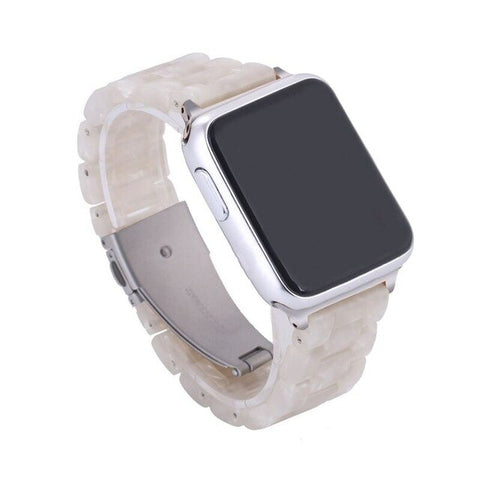Image of Fashion Resin Band Compatible With Apple Watch Series 1/2/3/4/5