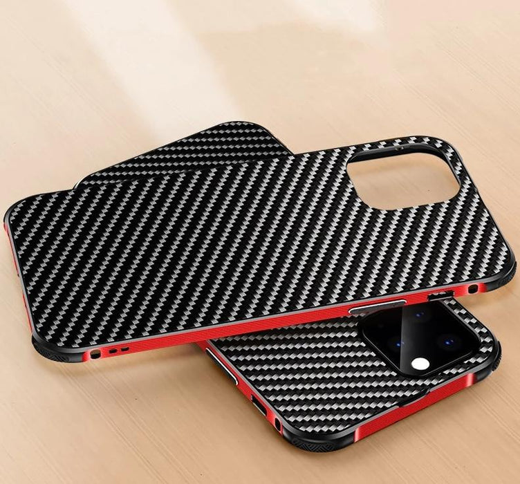 Case Metal Frame Bumper Aluminum Alloy Frame Protection Cover Military-Grade Armor Carbon for iPhone 11 Pro Max
