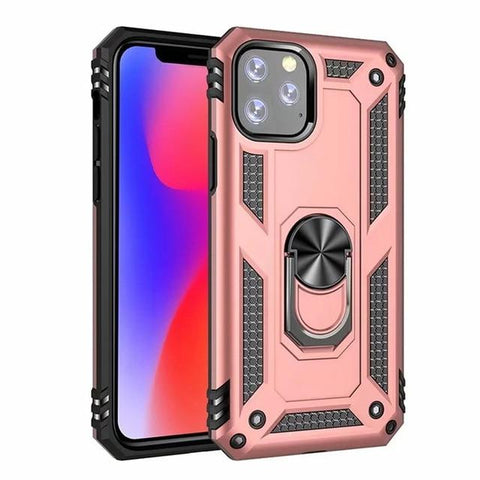 Image of Case Armor Magentic Ring Silicone Phone Case For iPhone 11 Pro Max 7 8 6 6S Plus X XR XS Max