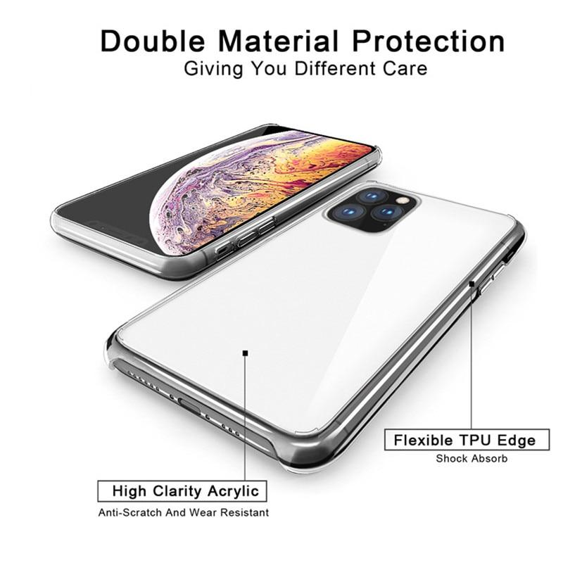Case for iPhone 11 Pro MAX Mobile Phone Silicone Case Ultra Thin Transparent Back Cover